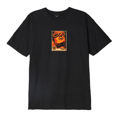 OBEY Goggles 30 Years Basic Tee Black | OBEY Clothing