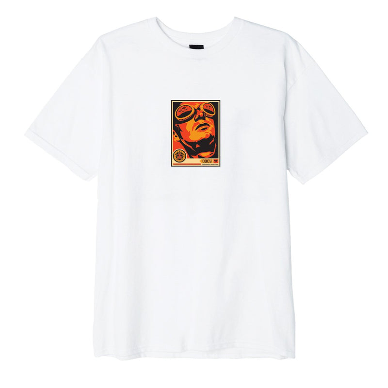 OBEY Goggles 30 Years Basic Tee White | OBEY Clothing