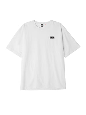 OBEY Eyes 3 Heavyweight Classic Box Tee White | OBEY Clothing