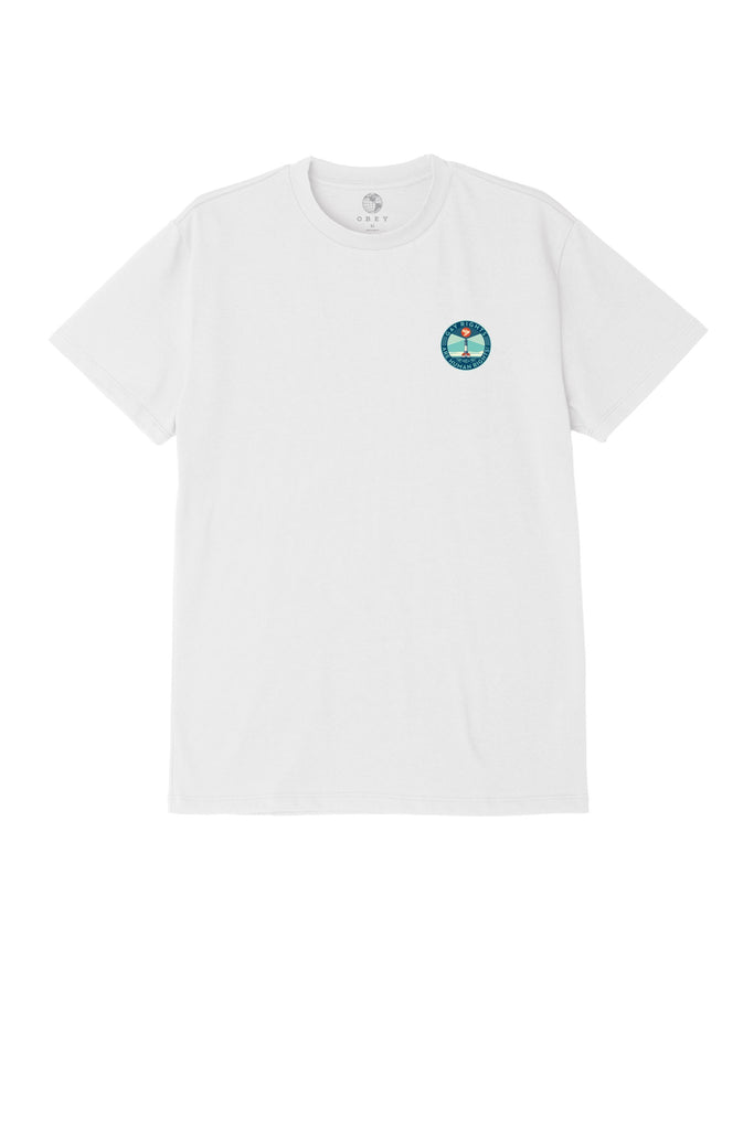 Fire Island Sustainable T-Shirt White | OBEY Clothing