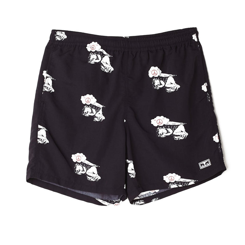 Easy Relaxed Dreams Short Black Multi | OBEY Clothing