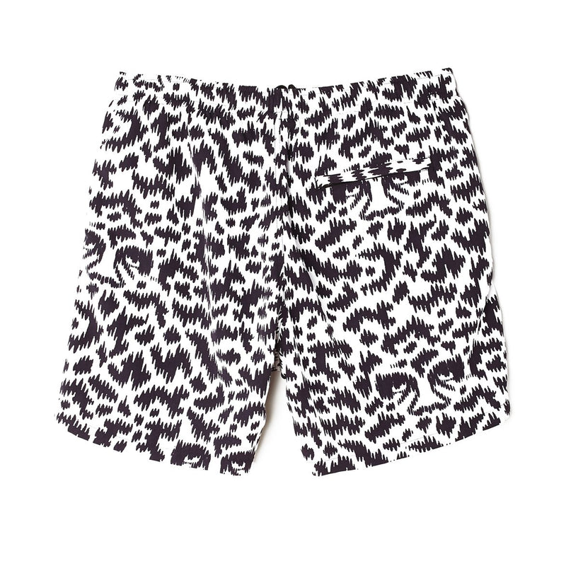 Easy Relaxed Fuzz Short White Multi | OBEY Clothing