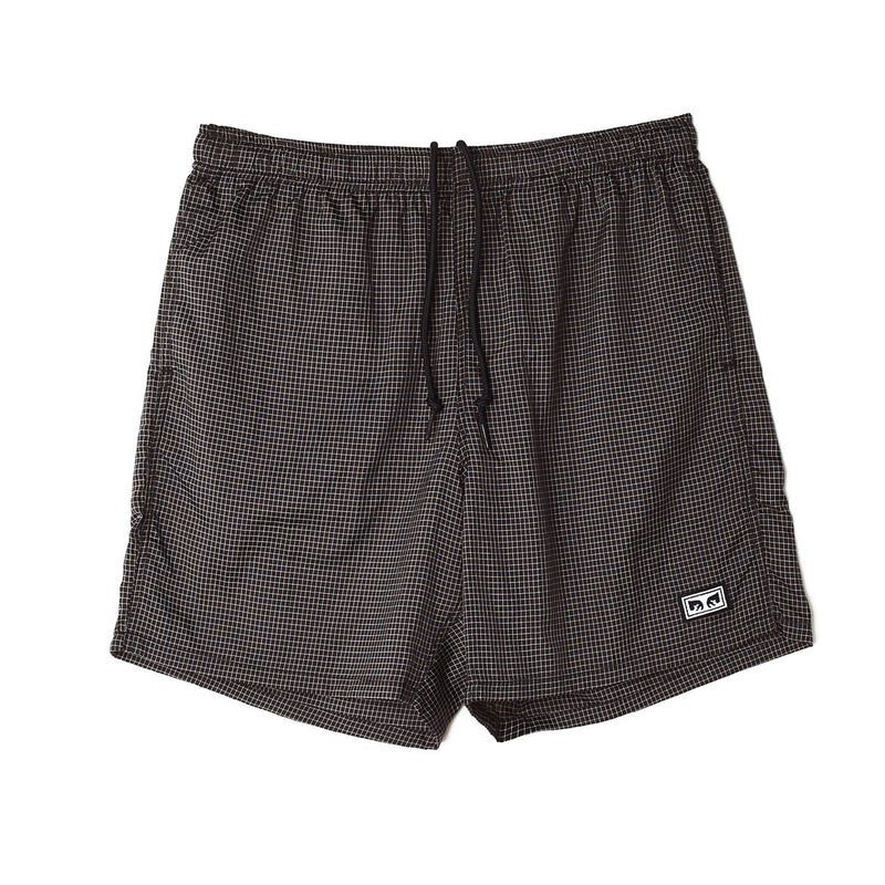 Easy Relaxed Nore Short Black | OBEY Clothing