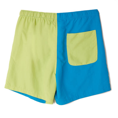 Easy Relaxed Recess Short Lime Multi | OBEY Clothing