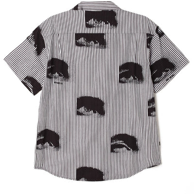 Sees All SS Shirt Black Multi | OBEY Clothing