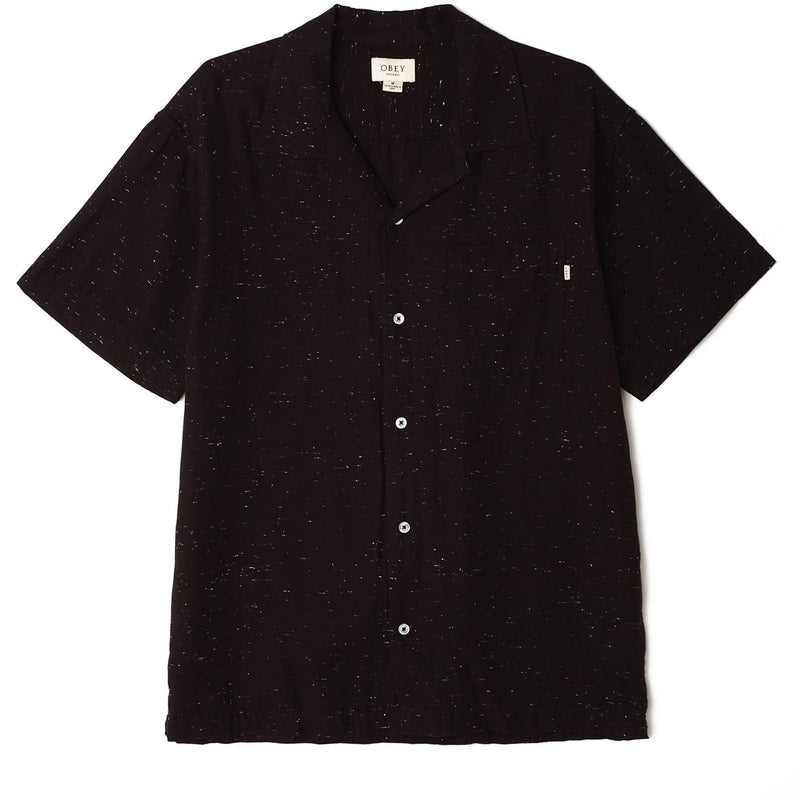 Ideals Organic Nep SS Shirt Black | OBEY Clothing