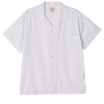 Ideals Organic Nep SS Shirt White | OBEY Clothing