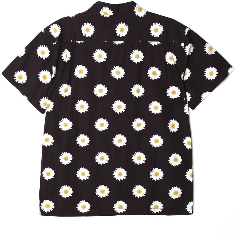 Ideals Organic Daisy SS Shirt Black Multi | OBEY Clothing