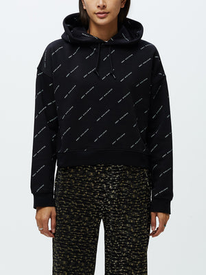 Infinity Pullover Hoodie Black Multi | OBEY Clothing