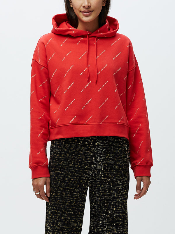 Infinity Pullover Hoodie Red Multi | OBEY Clothing