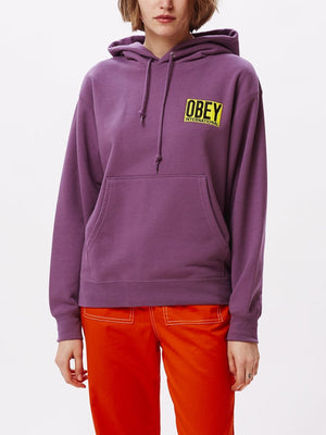 Fizz Hoodie Grape | OBEY Clothing