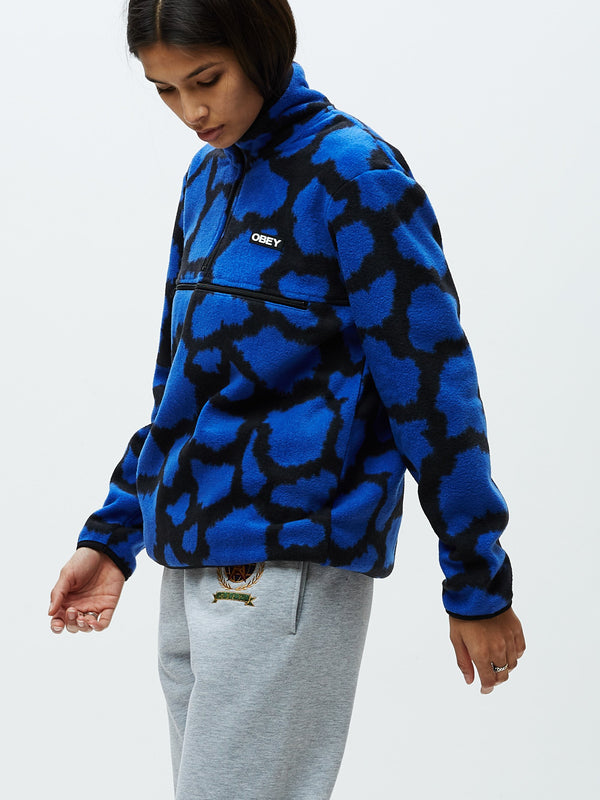 Odyssey Half Zip Cobalt Multi | OBEY Clothing