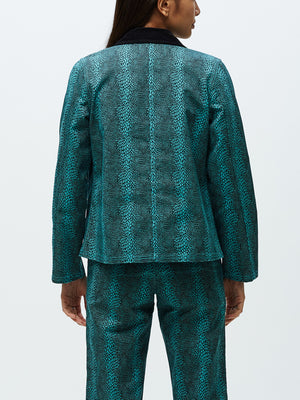 Adder Chore Coat Sea Green Multi | OBEY Clothing