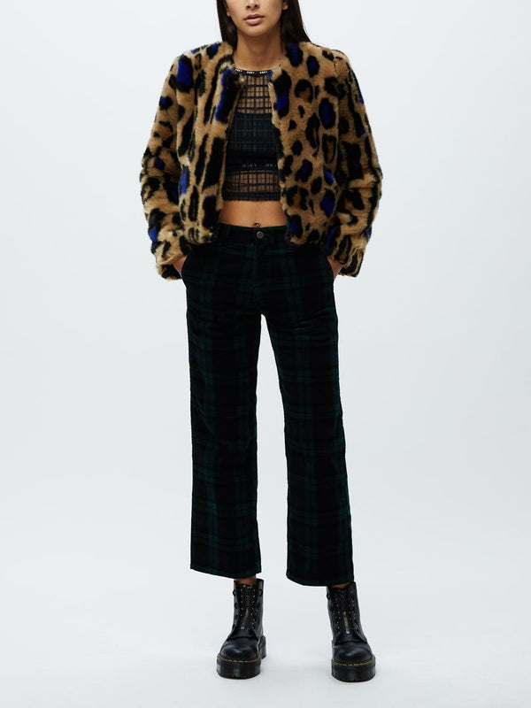 Felis Fur Coat Leopard | OBEY Clothing