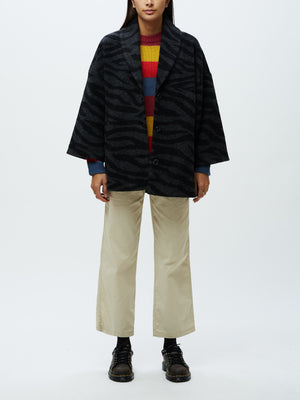 Johnny Coat Black Multi | OBEY Clothing