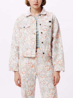 Crush Jacket Blush Multi | OBEY Clothing