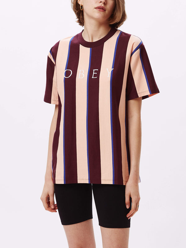 Skeptic Jersey Peach Multi | OBEY Clothing