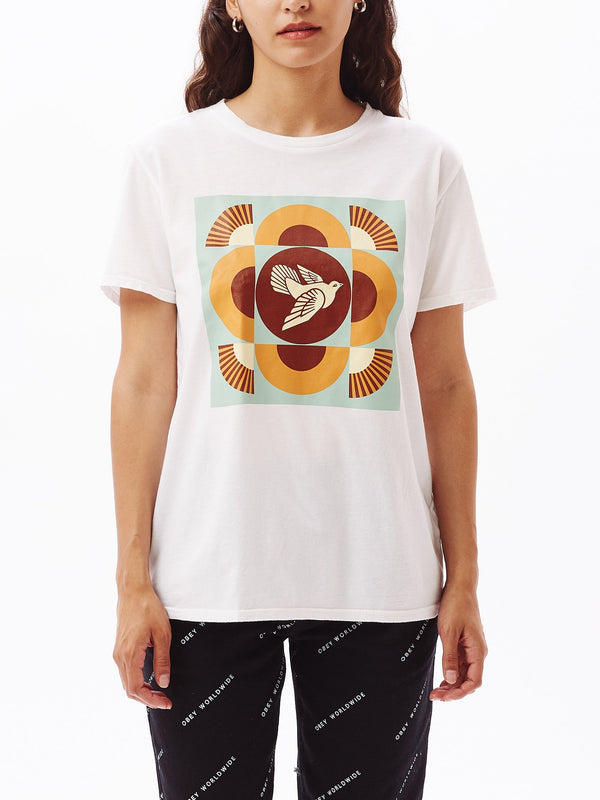 OBEY Dove Classic Tee White | OBEY Clothing