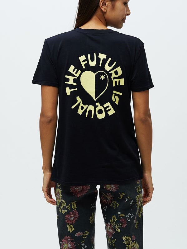 The Future Is Equal Classic Tee Black | OBEY Clothing