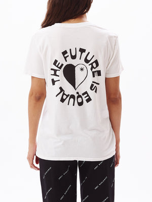 The Future Is Equal Classic Tee White | OBEY Clothing