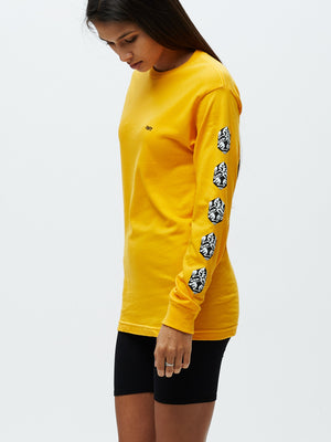 OBEY CUBE SALVAGE LS Gold | OBEY Clothing