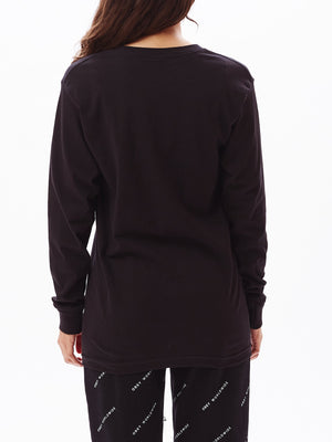 OBEY INTL ADVISORY SALVAGE LS BLACK | OBEY Clothing