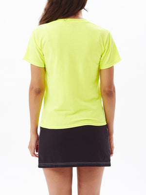 Novel OBEY 2 Shrunken Tee Safety Green | OBEY Clothing