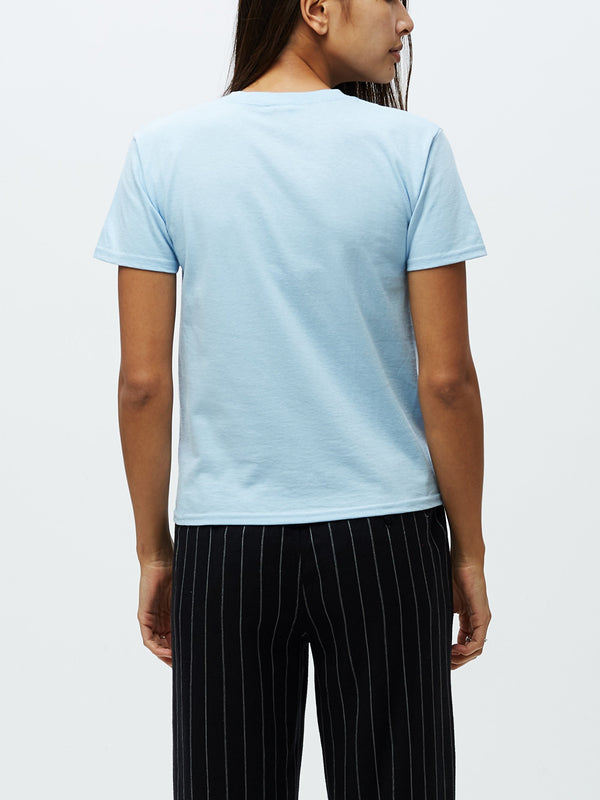 Tokyo OBEY Shrunken Tee Light Blue | OBEY Clothing