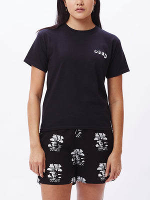 Tropical Trouble Shrunken T-Shirt Black | OBEY Clothing