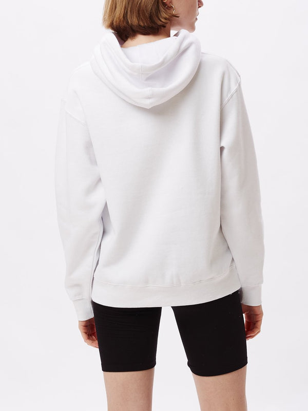 Come Together Box Fit Hoodie White | OBEY Clothing