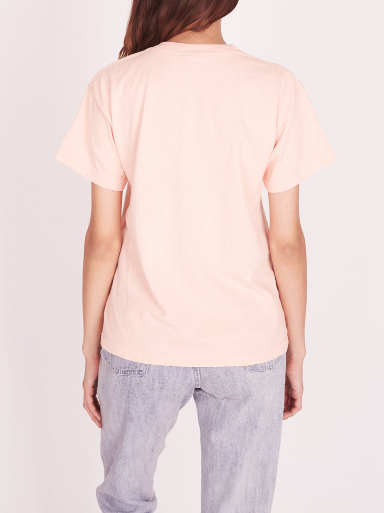 OBEY X-Acto Icon Face Custom Box Tee Peach | OBEY Clothing