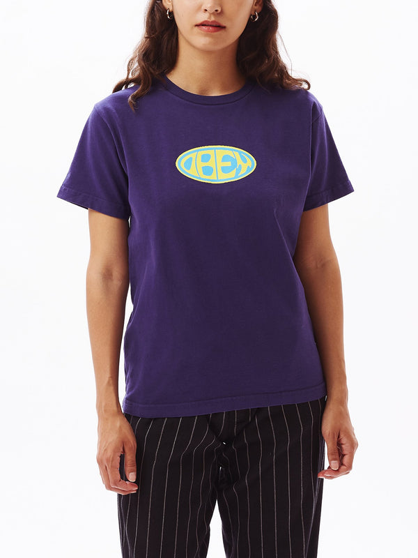 OBEY Bumper 2 Custom Box Tee Purple | OBEY Clothing