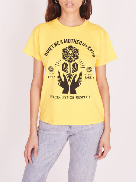OBEY Motherfr Recycled Organic Tee | OBEY Clothing