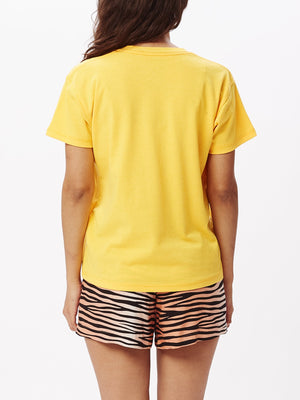 Butterfly Sustainable T-Shirt Yellow | OBEY Clothing