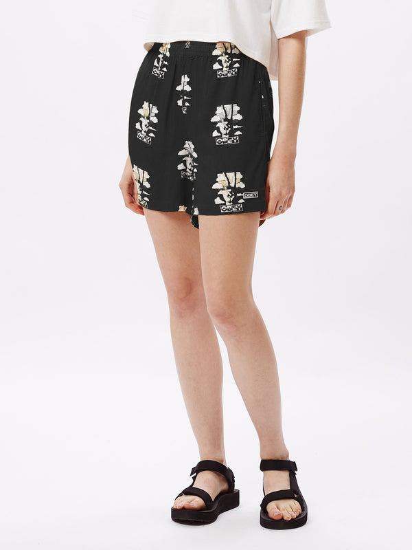 Peace Short Black Multi | OBEY Clothing