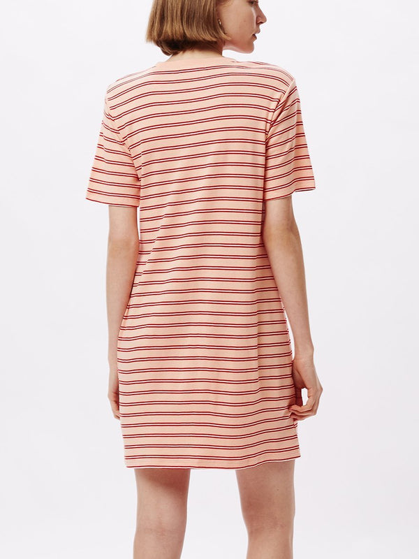 Gazer Dress Peach Multi | OBEY Clothing