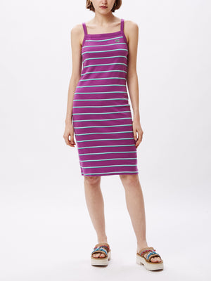 Ernie Tank Dress Violet Multi | OBEY Clothing