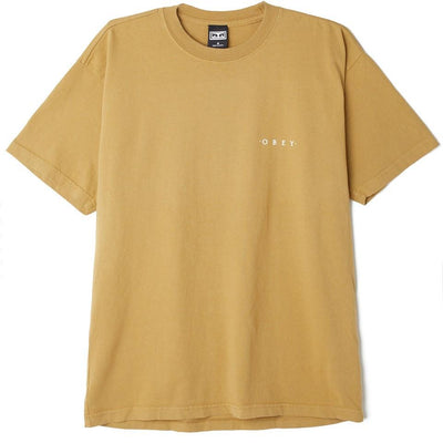 Novel OBEY 3 Heavyweight Box Tee | OBEY Clothing