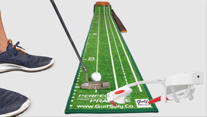 Perfect Putting Mat SE & Laser Glasses - Value Pack - ohksports