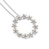 Sterling Silver Daisy Chain Necklace - Seashore Jewellery