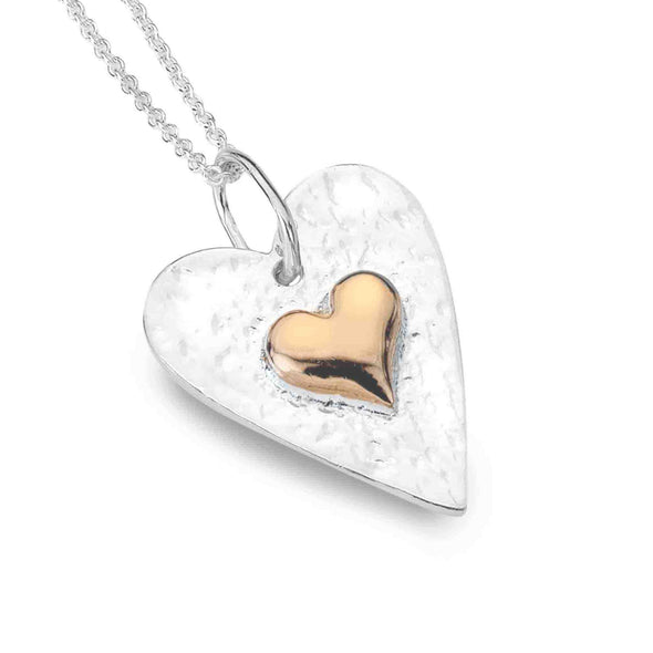 Sterling Silver Forever In My Heart Necklace - Seashore Jewellery