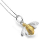 Sterling Silver Bee Necklace - Seashore Jewellery