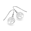 Sterling Silver Encircled Tree of Life Earrings - Seashore Jewellery
