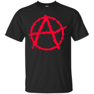 Anarchy - anarchy red T shirt & Hoodies