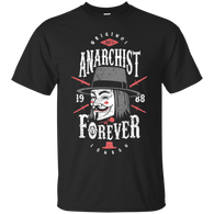 Anarchy - anarchist forever T shirt & Hoodies