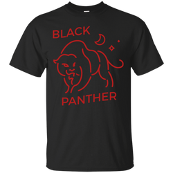Black Panther - Black Panther in Red T Shirt & Hoodies