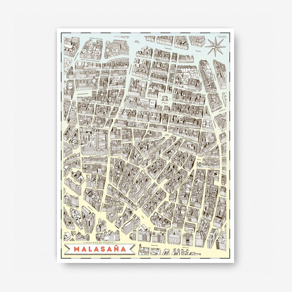 Madrid Map · Malasaña