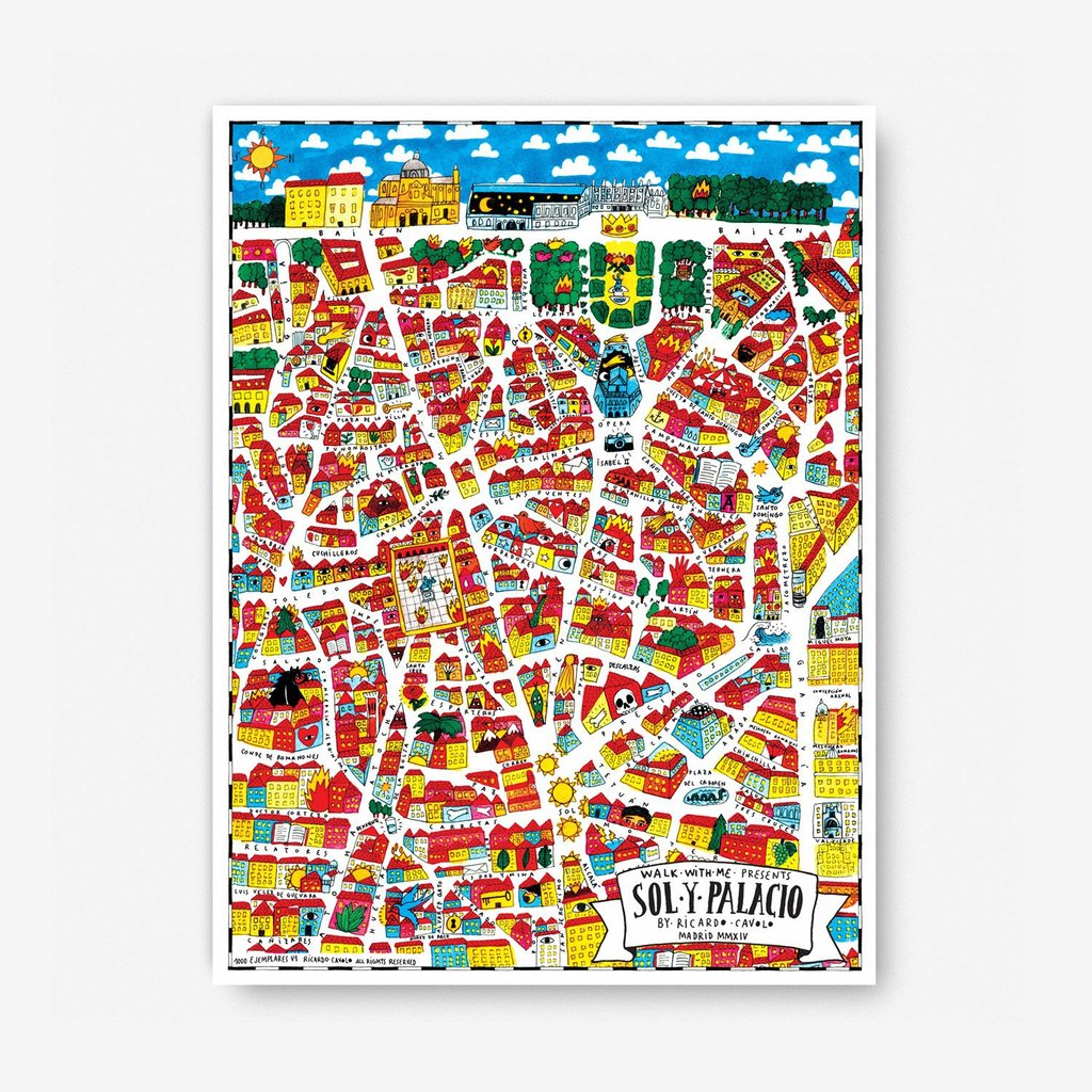 Madrid Map · Sol & Palacio