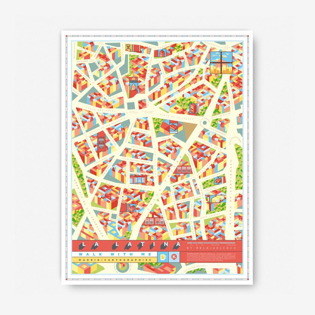 Madrid Map · La Latina