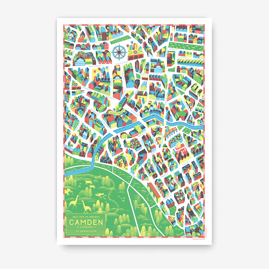 London Map · Camden